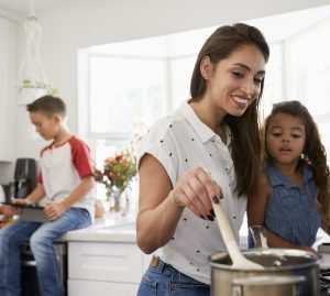 Do you have a budding chef in the household that needs a smart prep and cooking area?