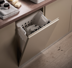 Tilt-out Laundry Basket