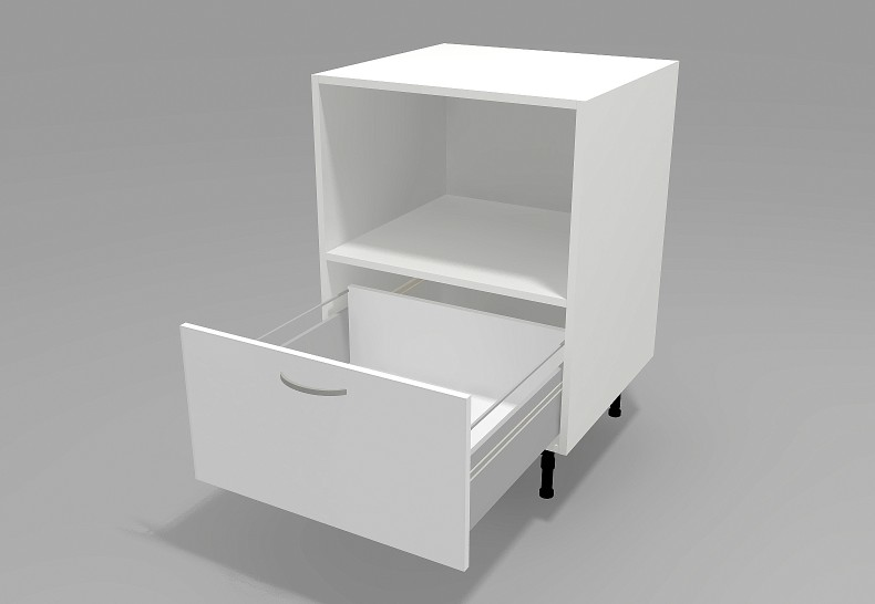 Under Bench Microwave Cabinet For Trim Kit Semble