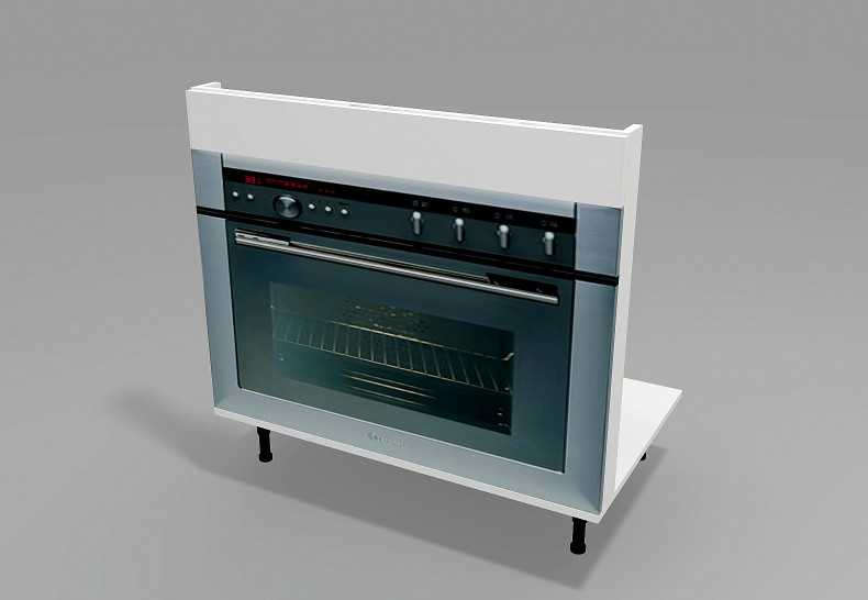 Under Bench Oven (Plinth)