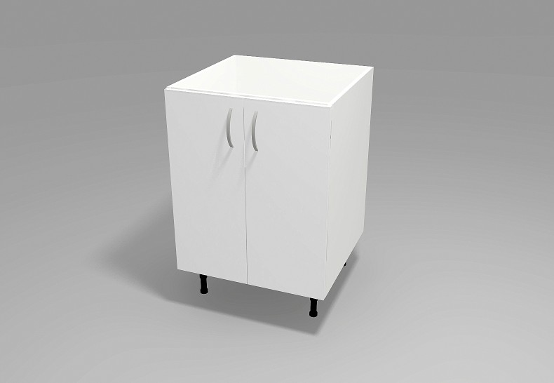 Floor 2 Door Cabinet for Sink
