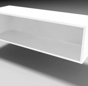 Compact Wall Open Shelf