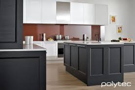 Design your own kitchen with Profiled Doors from Polytec